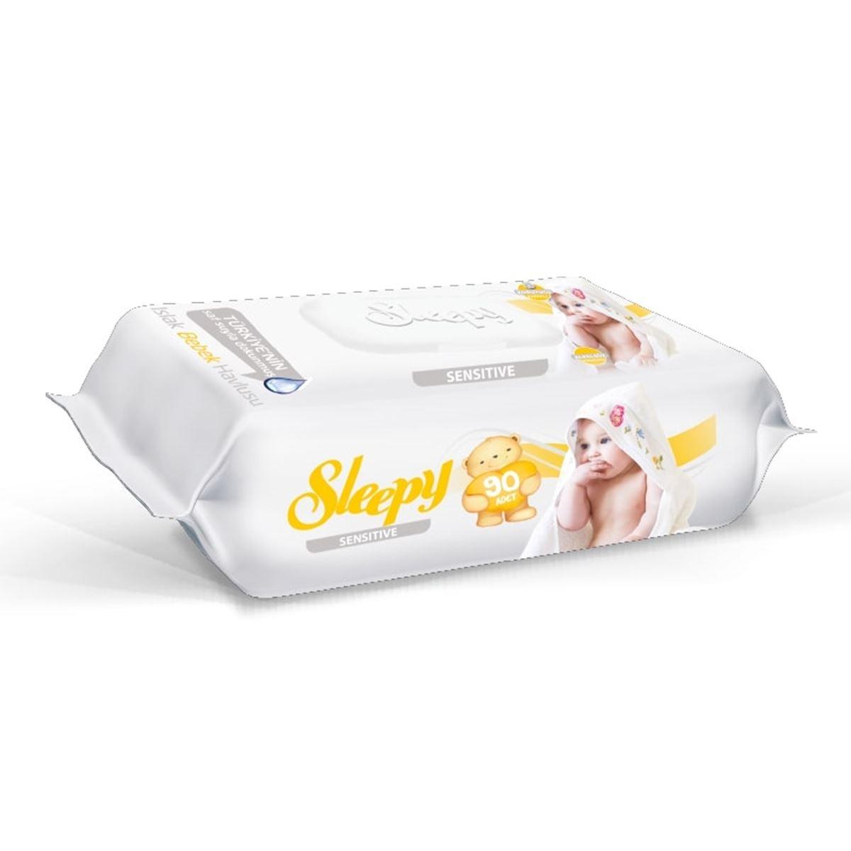 Sleepy Sensitive Islak Havlu 90 lı
