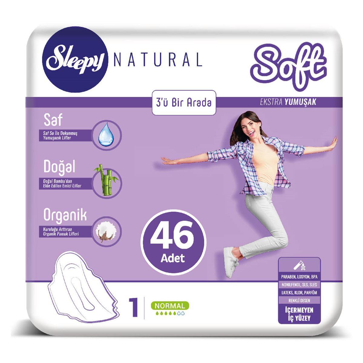 Sleepy Natural SOFT Ekstra Yumuşak Normal 46 PED