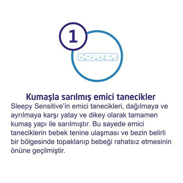 Sleepy Sensitive Pepee Yenidoğan 1 Numara Bebek Bezi