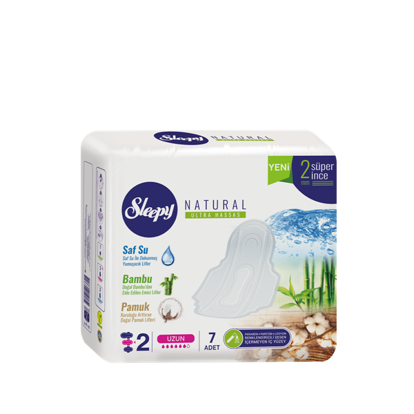 Sleepy Natural Ultra Hassas UZUN (7 Ped)