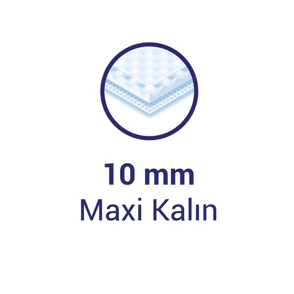 Sleepy Natural Ultra Hassas Maxi Kalın GECE (4x7 Ped)