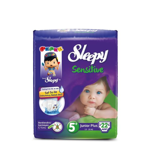 Sleepy Sensitive Pepee Junior Plus 5+ Numara Bebek Bezi