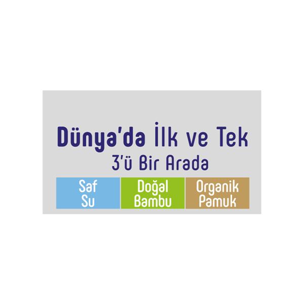 Sleepy Natural Yenidoğan Islak Pamuklu Havlu12x40