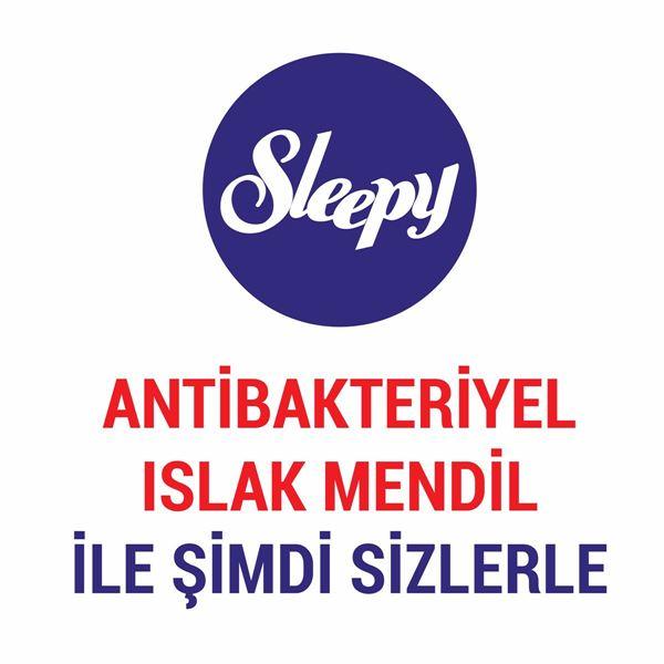 Sleepy Antibakteriyel Islak Havlu 50 li