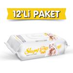 Resim Sleepy Sensitive Islak Havlu 12X90 lı