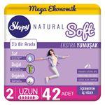Resim Sleepy Natural Soft Ekstra Yumuşak Uzun(42 Ped)